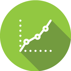 Smart Pages Growth Icon